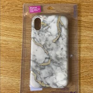 Marble iPhone XR phone case